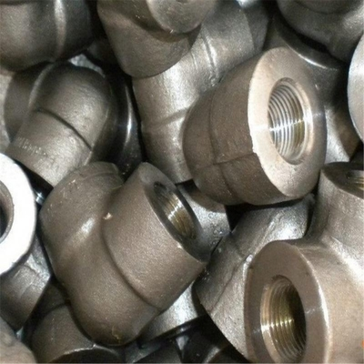 Threaded Industrial Pipe Fittings Class 3000 Forged ASTM A105 ASME B16.11